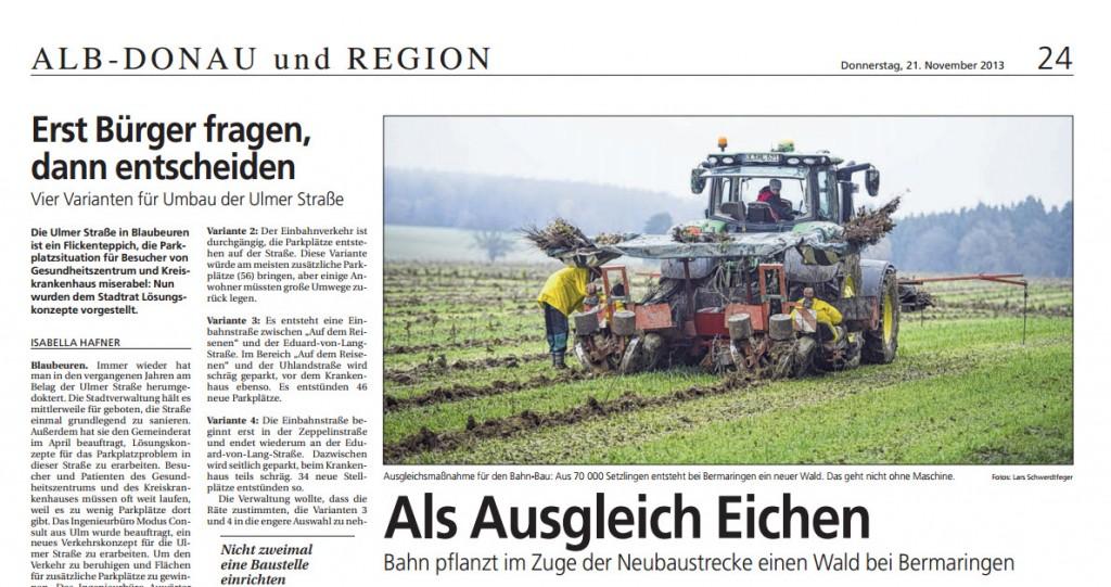 Bericht Südwestpresse
